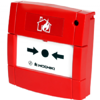 HOCHIKI HCP-EM Marine Approved Addressable Call Point Red